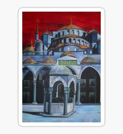Sultan Ahmed Mosque, Istanbul Sticker