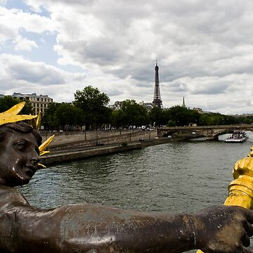 Bridge_Paris_EiffelTower by TabithaB-W
