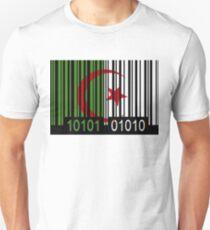 Algeria Barcode Flag T-Shirt