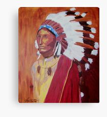 Indian Chief 1900 Canvas Print
