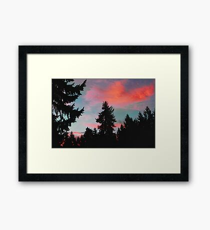 It's a Beautiful Morning! Framed Print