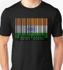 India Barcode Flag  T-Shirt