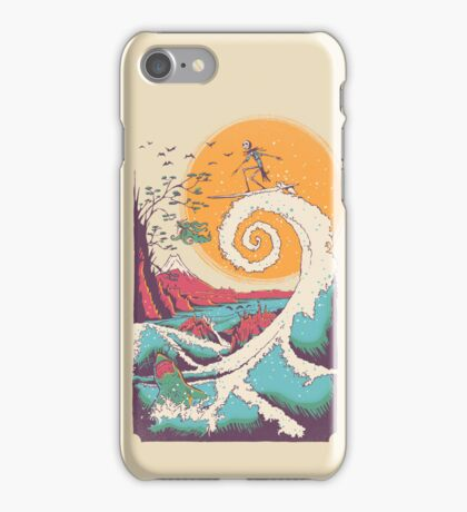 Surf Before Christmas iPhone Case/Skin