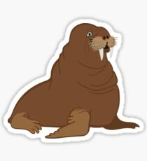 Now That's a Handsome Walrus Sticker