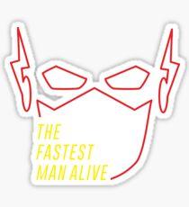 The Fastest Man Alive Sticker