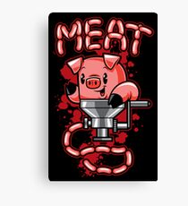 Nice to Meat You! Canvas Print