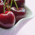 Red Cherries by Debbie-Stanger