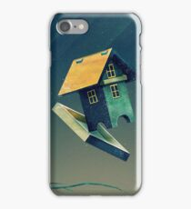 Flying Bird...house iPhone Case/Skin
