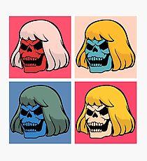 Skeleton Warhol Photographic Print