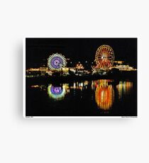 Lakefair Olympia Canvas Print