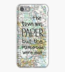 Paper Towns case iPhone Case/Skin