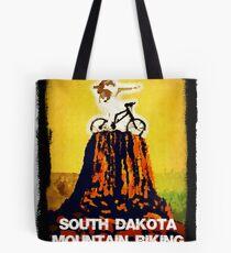 South Dakota Mountain Biking Tote Bag
