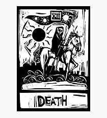 Death Card  - Tarot Cards - Major Arcana Photographic Print