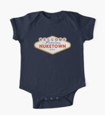welcome to nuketown One Piece - Short Sleeve