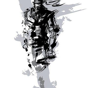 Solid Snake Fan Design by tyko2000
