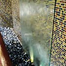 Wall Waterfall in Hallway at Parsippany Hilton by Jane Neill-Hancock