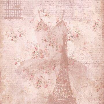 Vintage Eiffel Tower by grimecreative