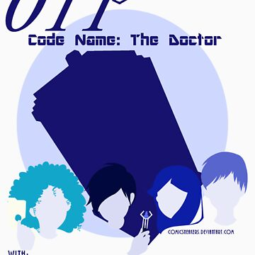 Code Name: The Doctor BlueTone for White Shirt by ashleydash20