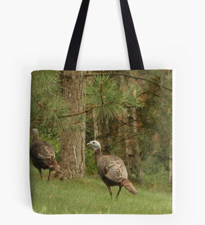 Holy Hill Turkeys Tote Bag