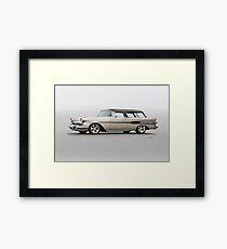 1957 Pontiac Starliner Safari Wagon Framed Print