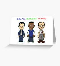 GTA 5 Characters Greeting Card