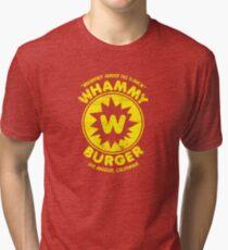 Whammy Burger Tri-blend T-Shirt