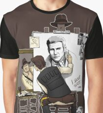 A Hero SelfPortrait Graphic T-Shirt