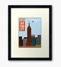 Super New York Comic Con 2012 Framed Print