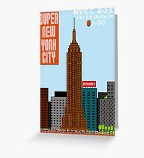 Super New York Comic Con 2012 Greeting Card