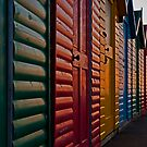 Beach Huts, Whitby by JMChown