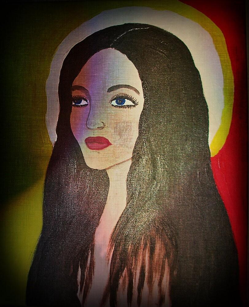 Lady portrait by Anette Ax Richardsdotter