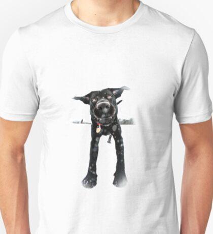 Puppy in snow T-Shirt