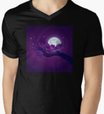 Eerie Owl Men's V-Neck T-Shirt