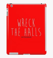 Deck the Halls With Boughs of Holly! iPad Case/Skin