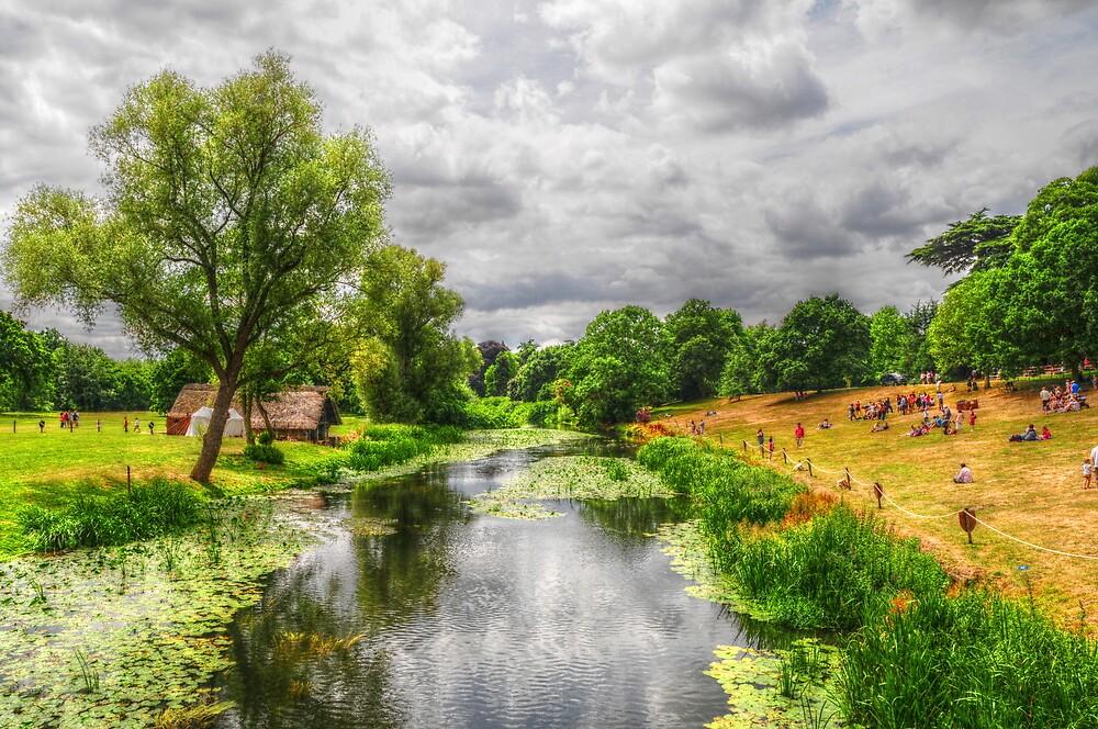 The River Scene by Stephen Walton