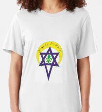 Krewe du Jieux Emblem Slim Fit T-Shirt