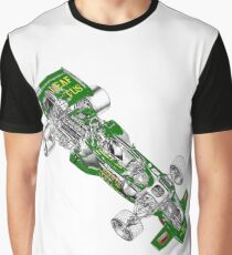Goldleaf Lotus F1 Car Graphic T-Shirt