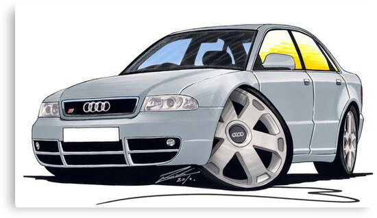 Audi S4 (B5) Silver by yeomanscarart