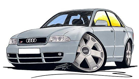 Audi S4 (B5) Silver by Richard Yeomans