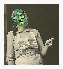 Emerald Wife Photographic Print