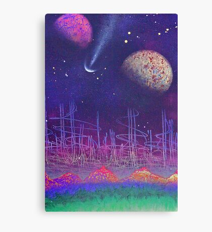 earth to space 1 by pickles Canvas Print