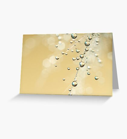 Fairy Dust Drops Greeting Card