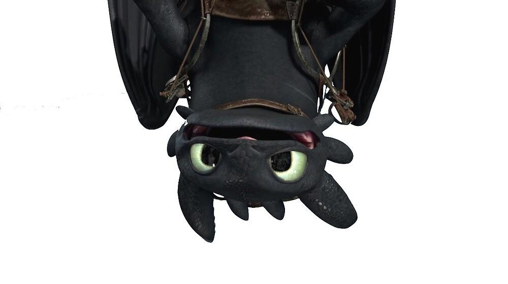 Toothless by yaelaperk
