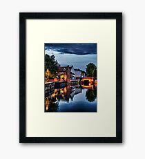 Fye Bridge, Norwich Framed Print