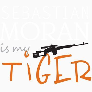 sebastian moran is my tiger by almonster