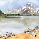 Grand Tetons by Diane Hall