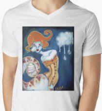 Little Tears - Corset Wearing Snake Girl Men's V-Neck T-Shirt