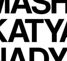 MASHA & KATYA & NADYA PUSSY RIOT Sticker