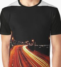 Traffic Trails Graphic T-Shirt