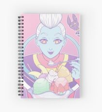 Whis' Sweets Spiral Notebook